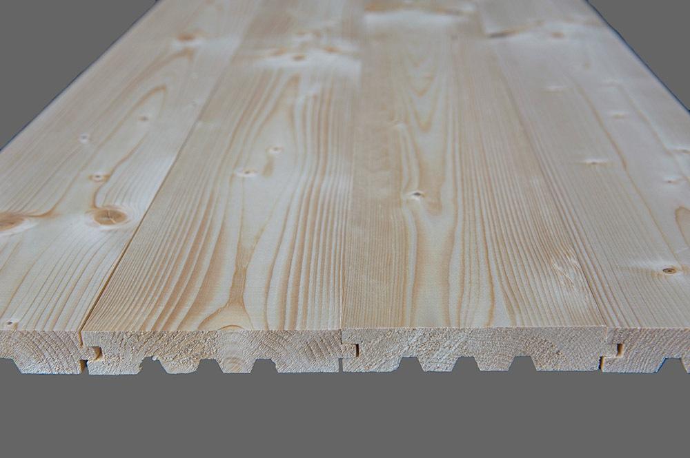 Deski podłogowe przekrój