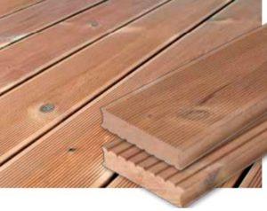 Thermo drewno taras