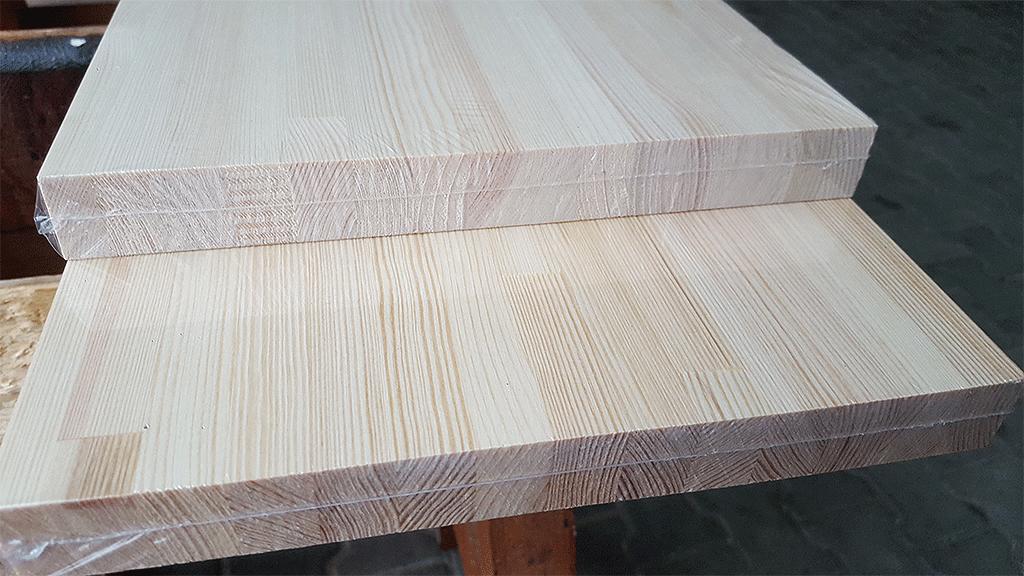 blaty drewniane z sosnowego drewna