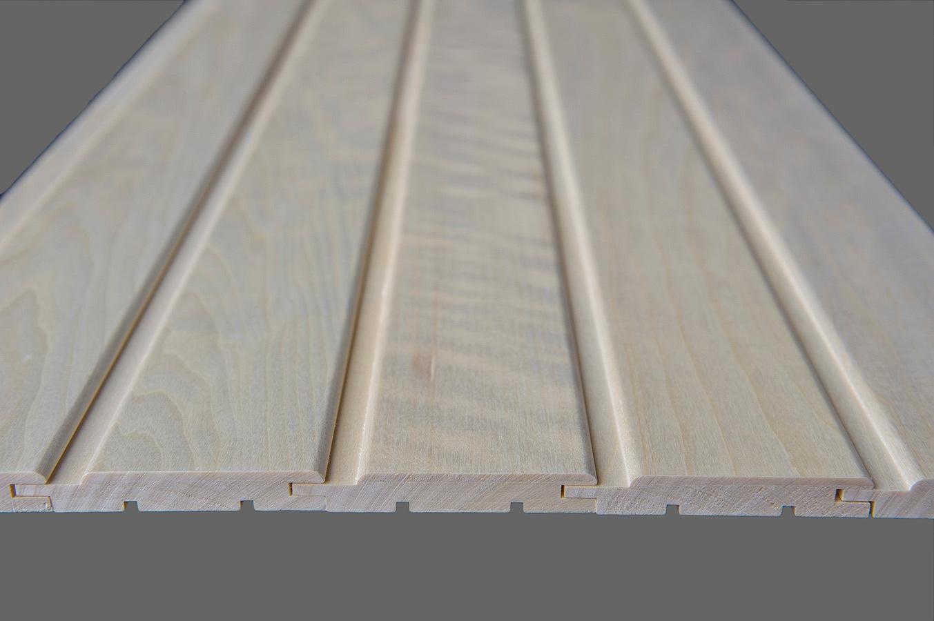 Deski do budowy sauny
