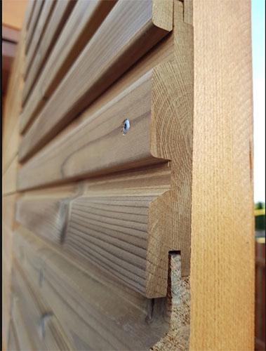 Nowe profile elewacyjne z termo-drewna