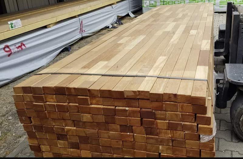 Drewno konstrukcyjne bangkirai